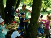 Den v arboretu